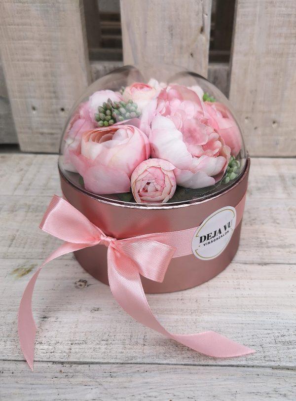 selyemvirág box